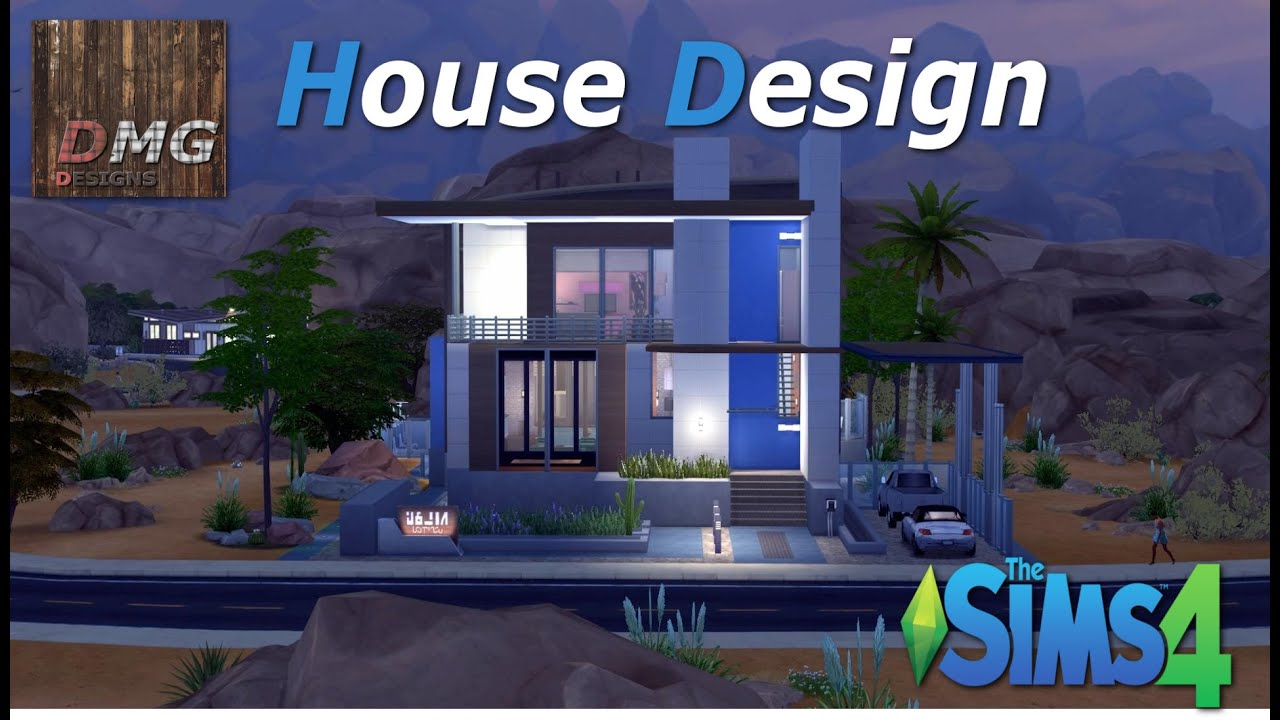 the sims 4 house design tour modern sonorana youtube - Sims 4 Home Design