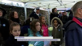 Maurepas : retour sur les commémorations du 11 novembre