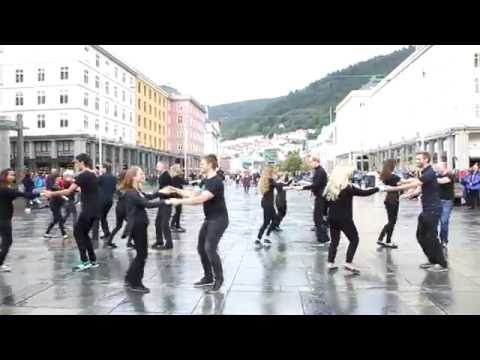 WCS International Flashmob 2016 Bergen