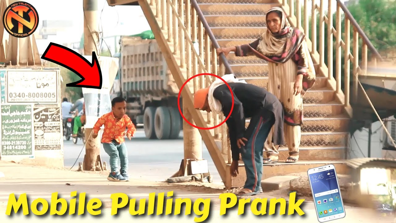 Mobile Pulling Prank  - Amazing Reactions | New Talent 2021