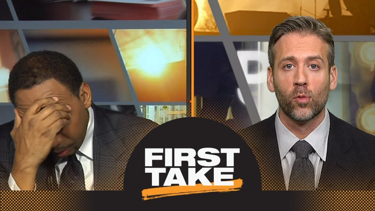 Stephen a and max debate the blueprint for beating the cavaliers stephen a and max debate the blueprint for beating the cavaliers first take espn malvernweather Gallery