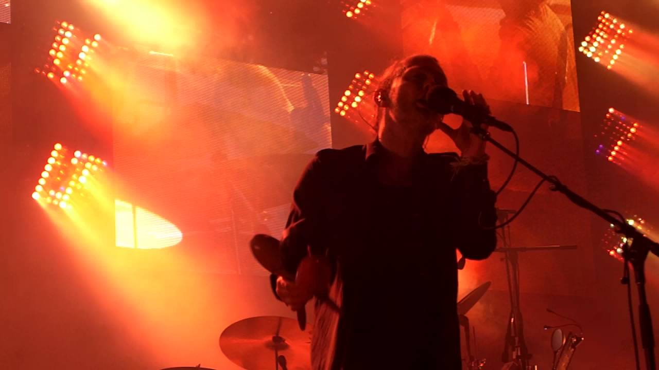 Radiohead Lotus Flower Concert Live Full Hd At Nuits De Fourvière