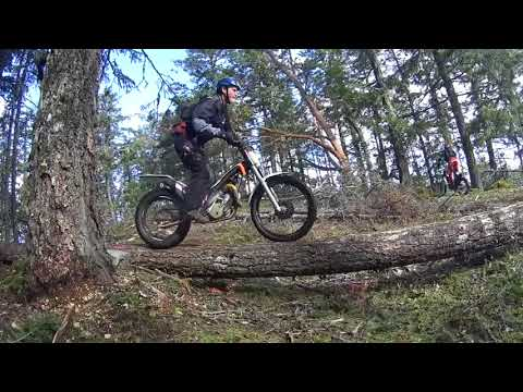 Extreme trails. A-team on the Pirate trail. March 2017 POV Graham Turner