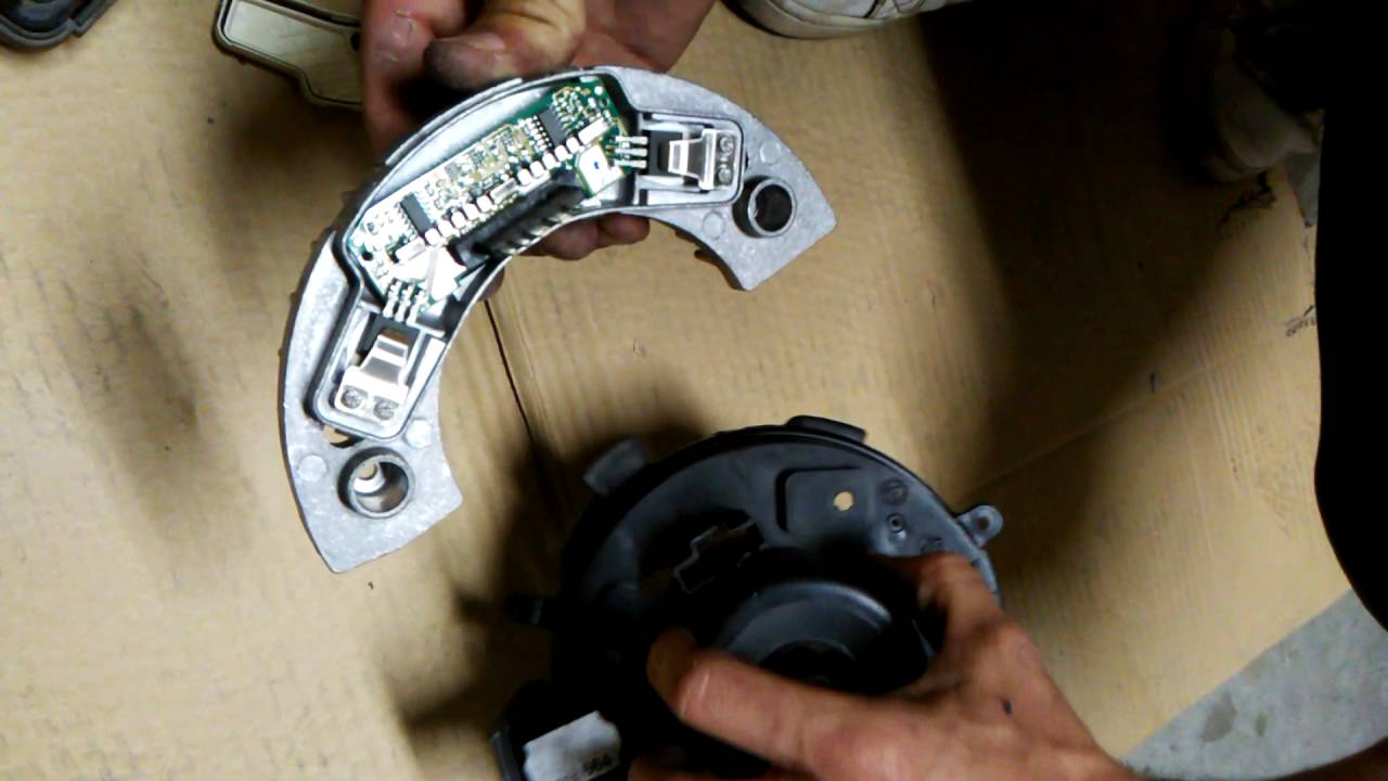 Sacar Y Reparar Ventilador De Ac De Peugeot 307 Sw Youtube