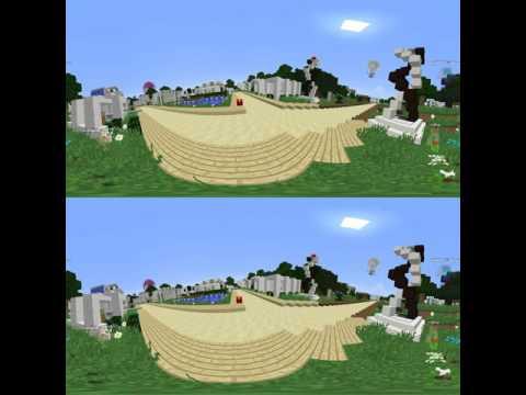 Minecraft #360Video VR Hunger games