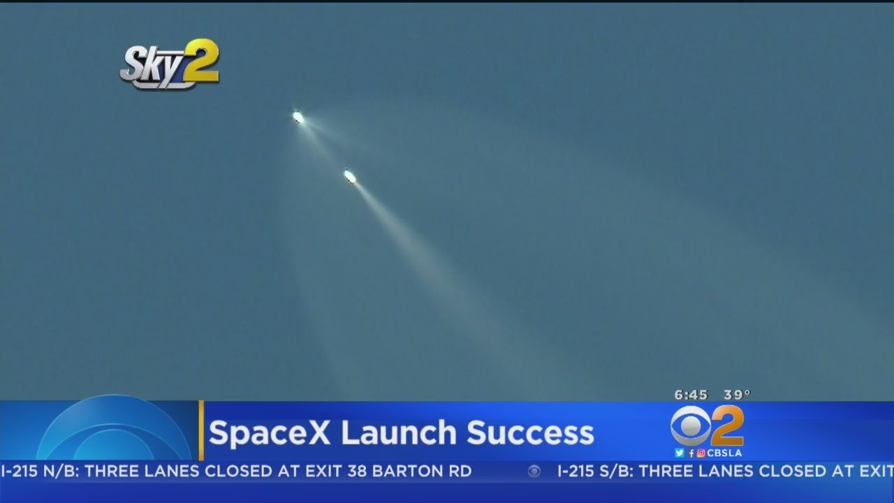 SpaceX Successfully Launches Trio Of Satellites From Vandenberg