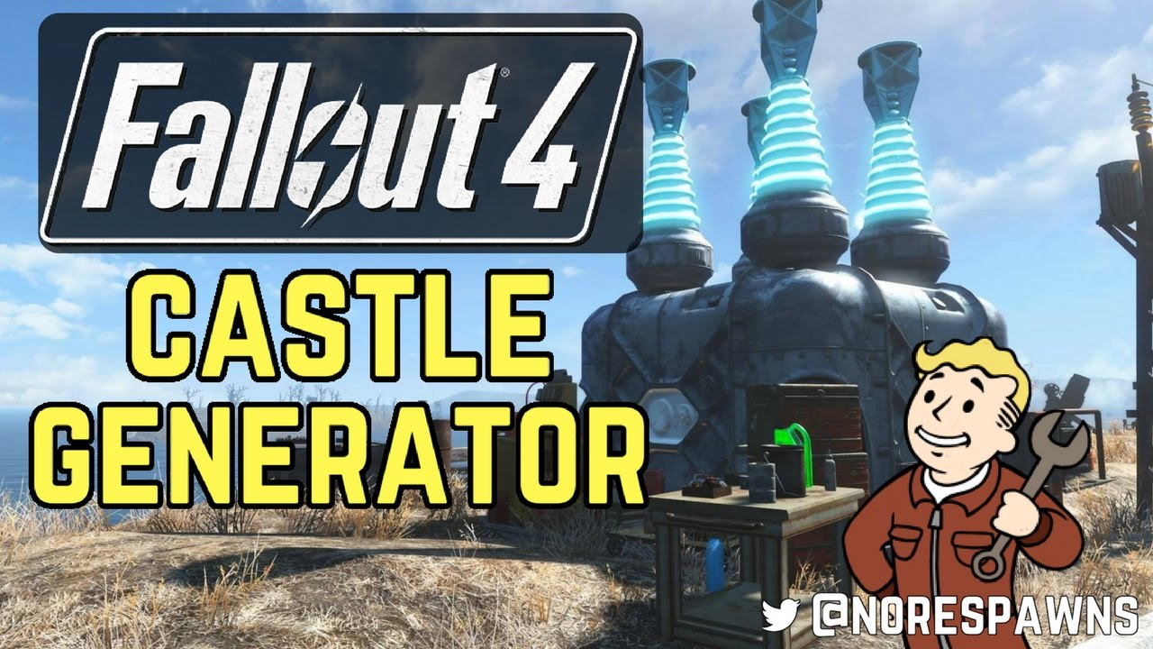 how to get the castle fallout 4