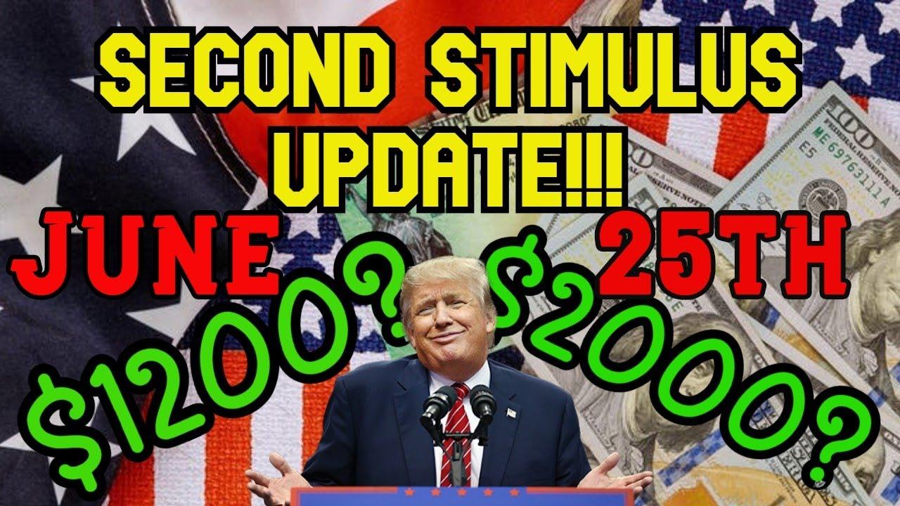 STIMULUS CHECK UPDATE JUNE 25TH!!! NO STIMULUS CHECK 2020 ...