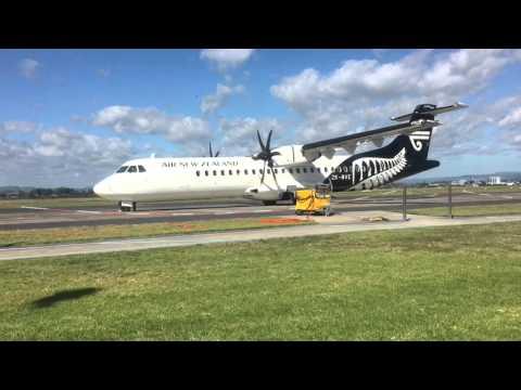 Air New Zealand ATR 72-600 Startup/Takeoff at Tauranga