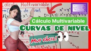 Curvas de nivel | calculo multivariable