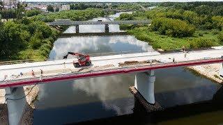 Budowa mostu na Narwi w ciągu DK nr 61
