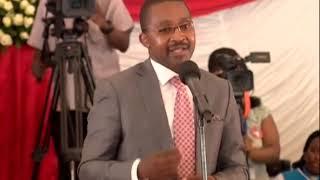 KABOGO Cheered at the funeral of the late Benga Legend Joseph Kamaru
