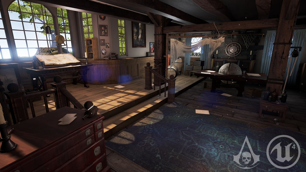 Assassin's Creed IV: Black Flag - Pirate Hideout - Unreal Engine 4