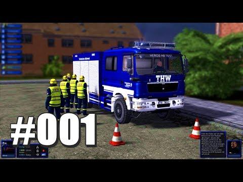THW-Simulator 2012 #001 - Munteres Bäume schieben