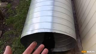 Канализационный колодец из вентиляционной трубы(Первая часть вводная чикла статей и видео о канализационном колодце своими руками. Сегодня выбираем матери..., 2015-07-09T14:50:19.000Z)