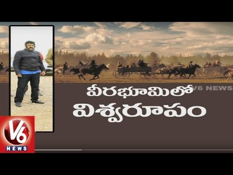 Balakrishna's Gautamiputra Satakarni War Sequences In Morocco | Tollywood Gossips | V6 News