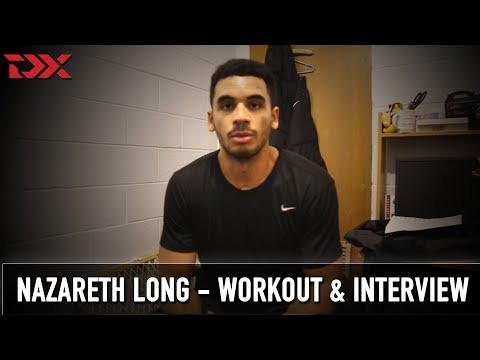 Naz Long NBA Pre-Draft Workout and Interview
