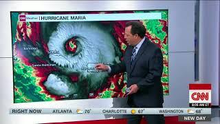 Hurricane Maria regains strength, back to Category 3