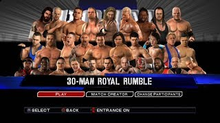 WWE SmackDown VS Raw 2011 PS3 Gameplay - Royal Rumble  [60FPS][FullHD]