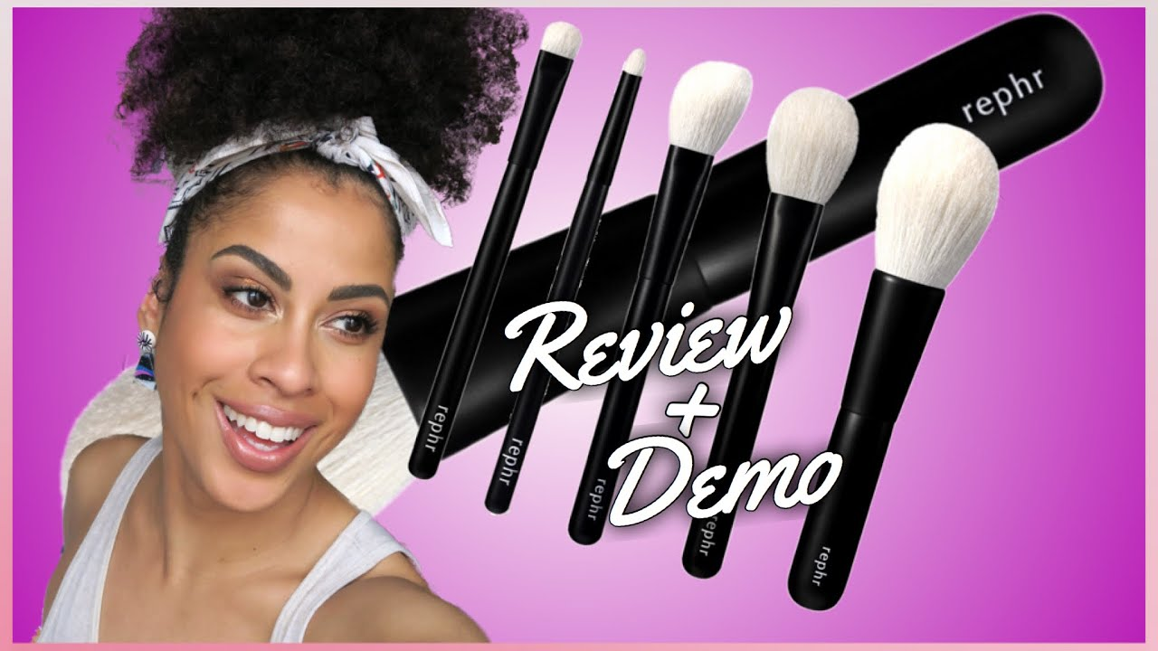REPHR BRUSHES | REVIEW + DEMO - kinkysweat