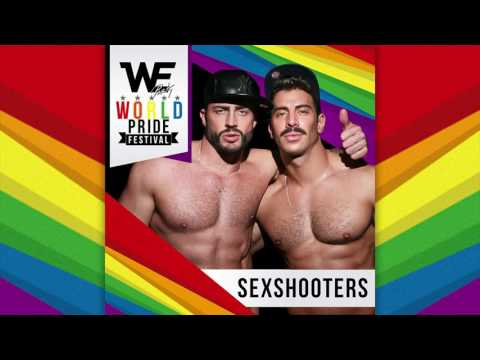 SEXSHOOTERS - We Party Madrid World Pride Festival 2017 Podcast