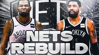 BEST RECORD OF ALL TIME!? REBUILDING THE BROOKLYN NETS! NBA 2K20