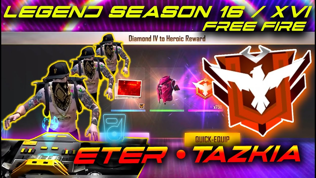 ROAD TO MASTER 6 JAM NON STOP !!! SEASON 16 FREE FIRE - LETDA HYPER