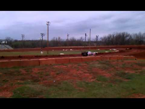 Practice at Brill's Motor Speedway 3-18-12