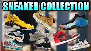 My ENTIRE SNEAKER COLLECTION 2018 !   Huge Sneaker Collection 2018