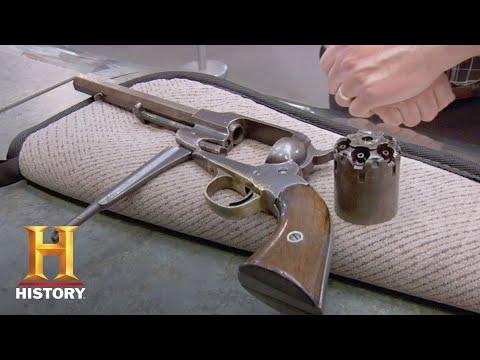 Pawn Stars: Remington New Model Army .44   History