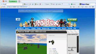 Please help me Fix my Roblox Browser =''(.wmv