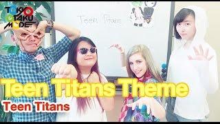 Teen Titans Theme [Teen Titans]  (Anison Acapella Cover American Special!!)【Diana Garnet】