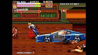 OpenBoR games: Streets of Rage XXX (Aoi Mizusawa's edit) playthrough - Part 2: BK:TNG route