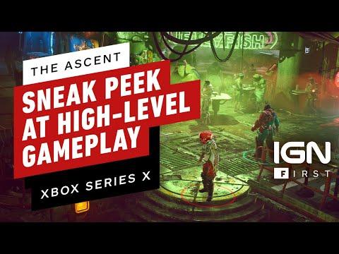 Новый геймплей The Ascent c приставки Xbox Series X появился в сети