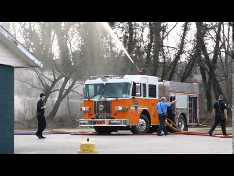 WFD Engine 2 - Deck Gun Water Flow
