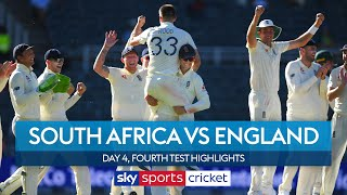 England clinch 3-1 series win! | South Africa vs England | Day 4, 4th Test Highlights