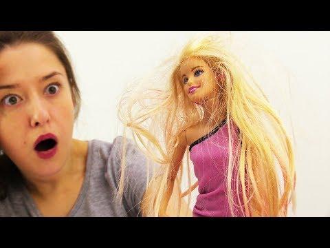 Преображение Барби: стрижка и ламинирование! Игры для девочек