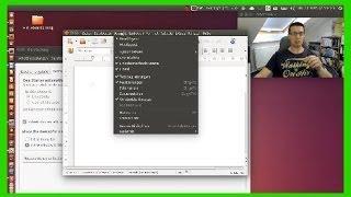 Neu in Ubuntu 14.04: Menüs wahlweise in Titelleiste vom Fenster oder oben im Panel [deutsch/german]