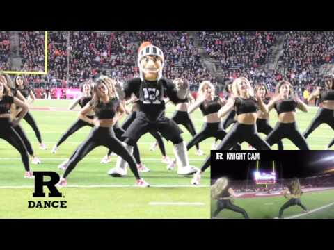 Rutgers University Dance Team & The Scarlet Knight - Black Cat