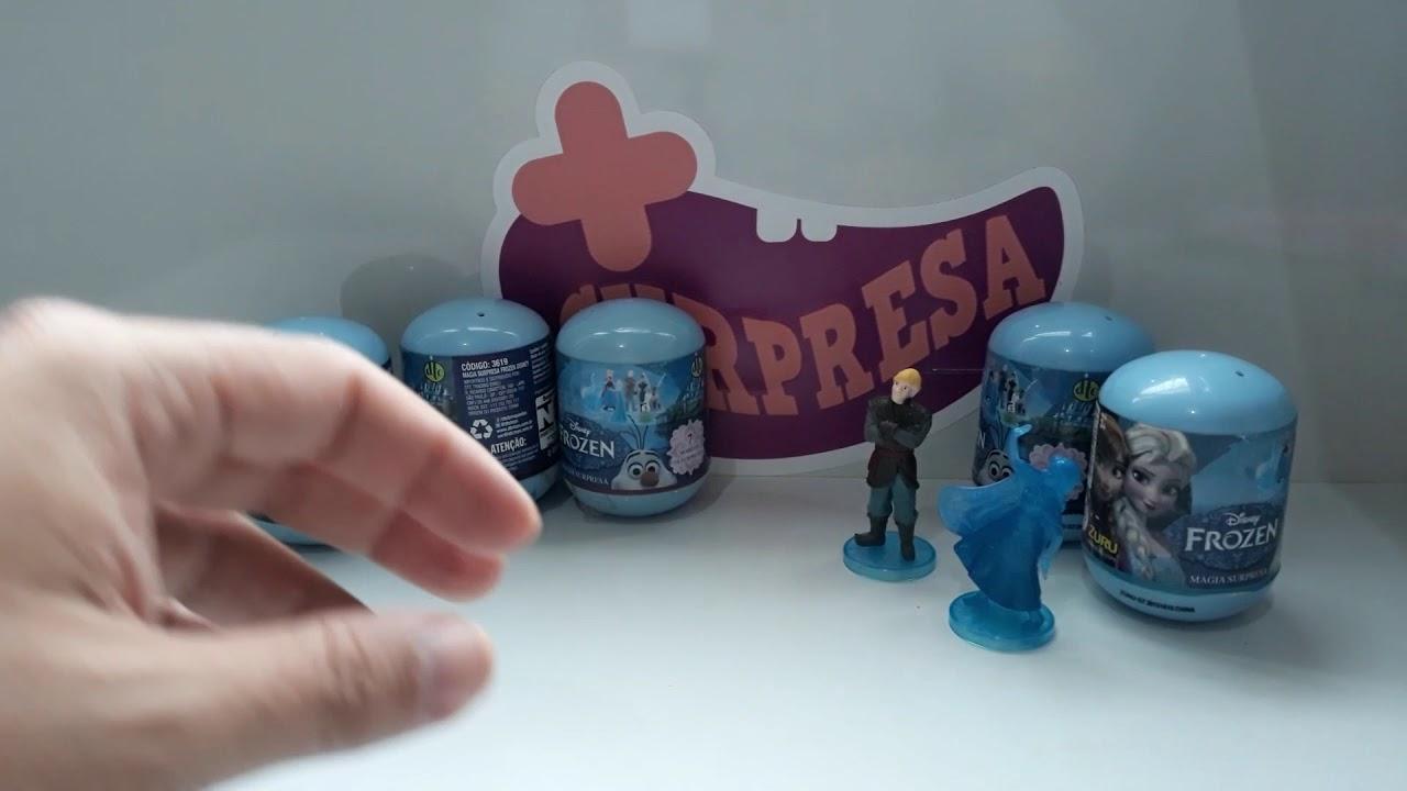 FROZEN - PARTE 2 - NOVOS PERSONAGENS - #unboxing #frozen2