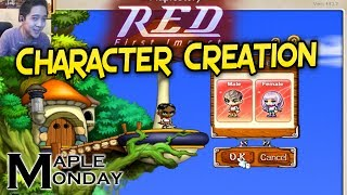 RED Character Creation Intro - Maple Monday