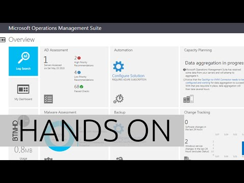 Microsoft Operation Management Suite Hands On!
