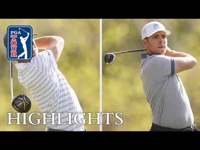 Justin Thomas vs Luke List Highlights   Round 1   Dell Match Play