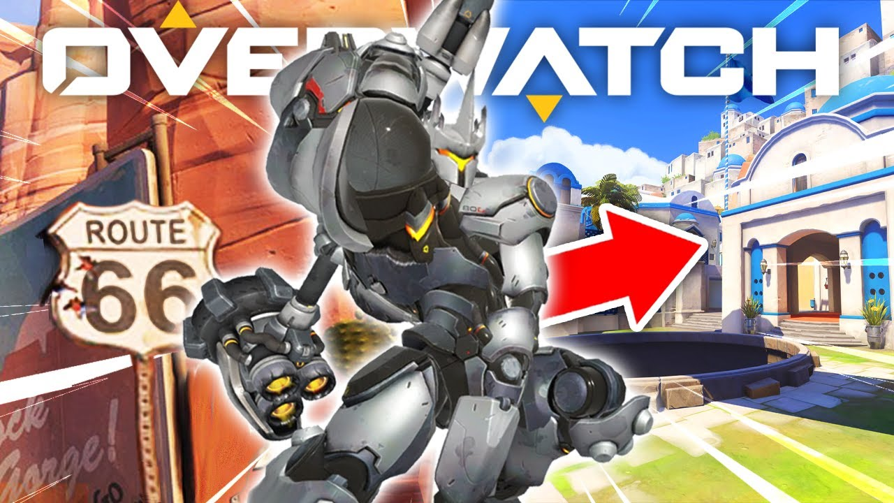 We Tested Reinhardt's GLITCHED Ultimate on EVERY Map