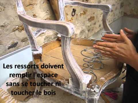 cabriolet louis xv tape 007 ressorts 1 19 youtube. Black Bedroom Furniture Sets. Home Design Ideas