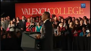 President Obama visits Valencia College - March, 20, 2014