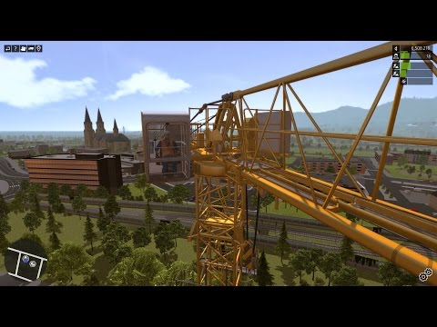 Construction-Simulator 2015 - Liebherr 150 EC-B Tower Crane