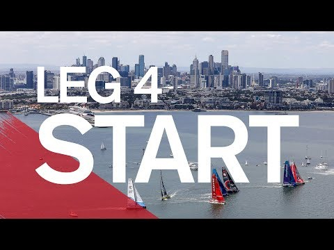 Full Replay: Leg 4 Start in Melbourne