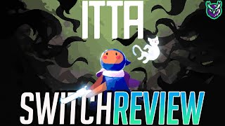 ITTA Nintendo Switch Review-Bullet Hell Boss BATTLER (Video Game Video Review)