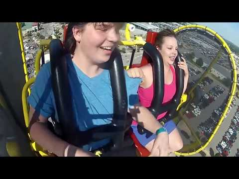 Tulsa state fair 2016--skyscraper ride